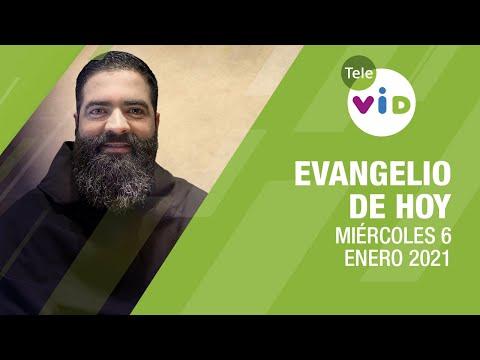El evangelio de hoy, Miércoles 6 de Enero de 2021 📖 Lectio Divina – Tele VID