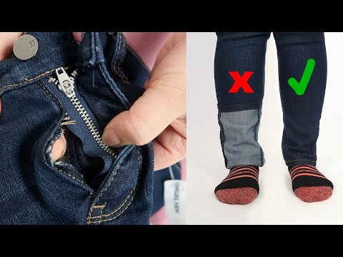 How to fix a popped seam & shorten pant legs | Thrifted Quick Fix