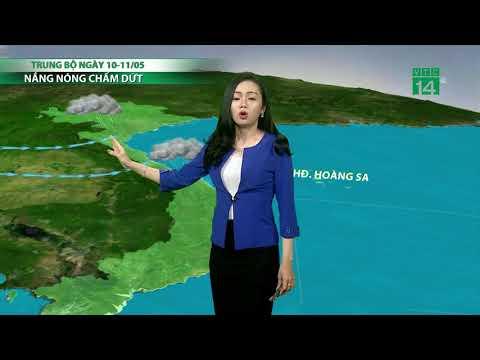 VTC14 | Thời tiết cuối ngày 08/05/2018 | Mưa lan rộng đêm nay và sáng mai ở miền Bắc