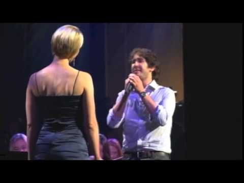 Bridge over Troubled Water- The Power of Music- Josh Groban and Jen Malenke