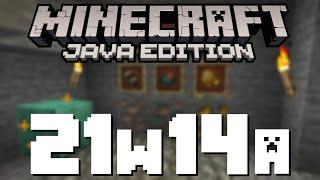 Minecraft 1.17 News – 21w14a: Raw Metals!