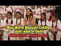 Miss World Manushi Chillar walks for a cause