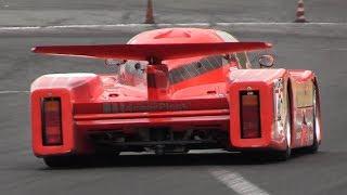 1982 Sauber SHS C6 Group C In Action on Track