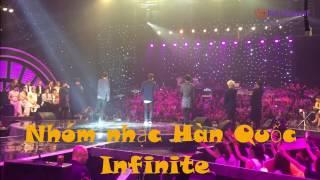 """INFINITE - Phía sau một  Nhóm nhạc Hàn Quốc INFINITE tại """"Nhạc hội song ca"""""""