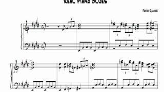 Real Piano Blues | +SHEET MUSIC (Fabio Gianni) - YouTube