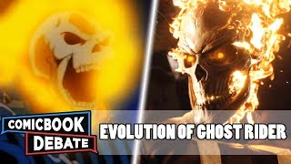 Evolution of Ghost Rider in Cartoons, Movies & TV in 7 Minutes (2018)