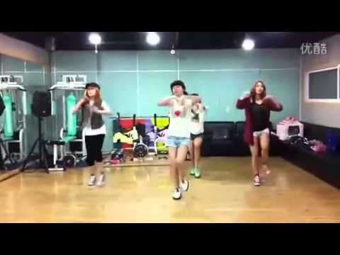 Miss A - Good Bye Baby dance practice HD