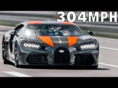304 MPH Bugatti Chiron proto ? The Fastest Car in the World