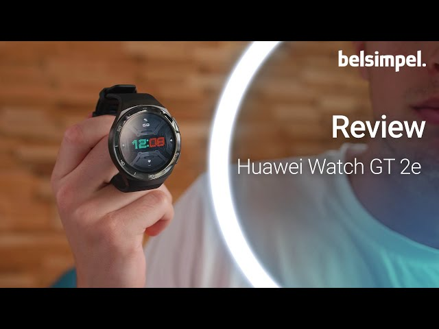 Belsimpel-productvideo voor de Huawei Watch GT 2e Green