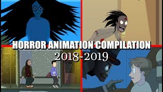 13 Even More Animated Horror Stories (2018-2019 Compilation)