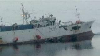 South Korea rescues Russia ship in Antarctica