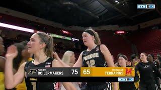 Purdue at Maryland - Women's Basketball Highlights