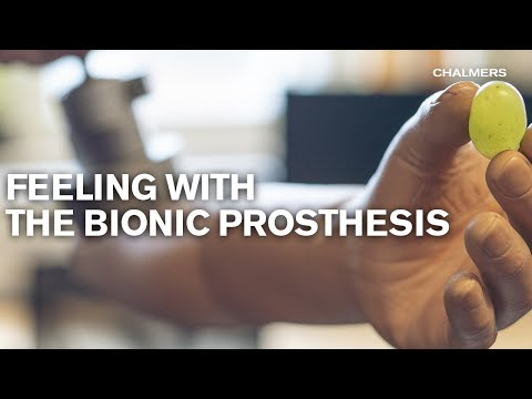 Feeling with the bionic prosthesis
