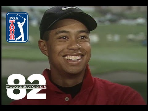 Tiger Woods wins 1997 Mercedes Championships Chasing 82
