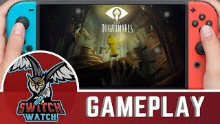 Little Nightmares Complete Edition Switch Gameplay (Handheld)