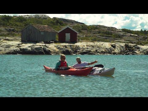 Henriettes Sverige - Kajakkpadling ved Koster