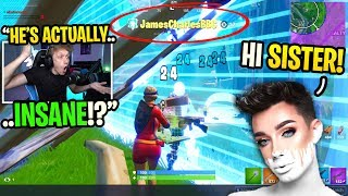 I spectated JAMES CHARLES and couldn't BELIEVE how good he was... (shocking)