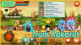 Ngọc Rồng Online - Cầm Xayya Khủng + Sét Kakarot Pem Nát Làng kakarot