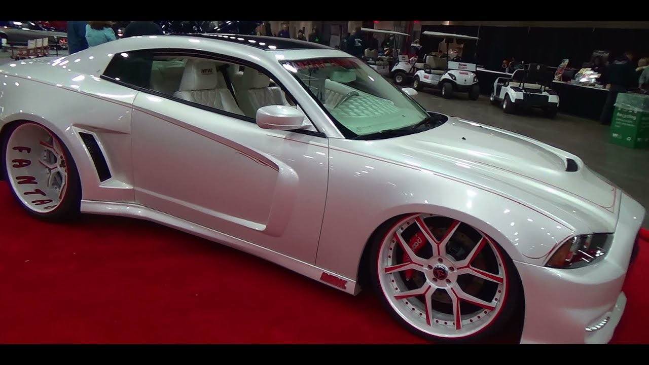 new body kit dodge charger bodykit