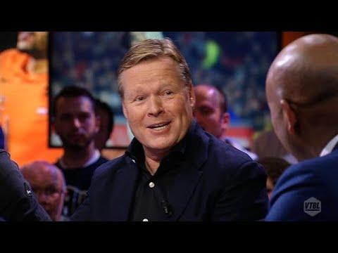 Pret en discussie met bondscoach Koeman: dit zijn de hoogtepunten van VTBL  - RTL NIEUWS