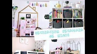 RE-Decorando la habitación de mis hijos - Shared Boy and Girl Room Makeover