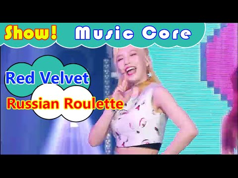 [Comeback Stage] Red Velvet - Russian Roulette, 레드벨벳 - 러시안 룰렛 Show Music core 20160917
