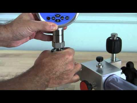 Additel 925 & 927 Hydraulic Pressure Test Pumps