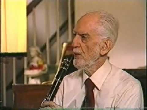 Joe Allard - the master speaks - saxophone & calrinet principles (part 1)