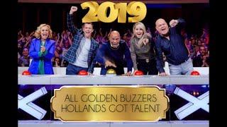 ALL GOLDEN BUZZERS l HOLLANDS GOT TALENT 2019 ⭐️ #hollandsgottalent #goldenbuzzer