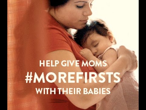 Because all moms deserve #MoreFirsts