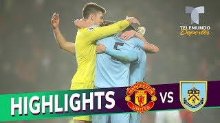 Manchester United vs. Burnley: 0-2 Goals & Highlights | Premier League | Telemundo Deportes