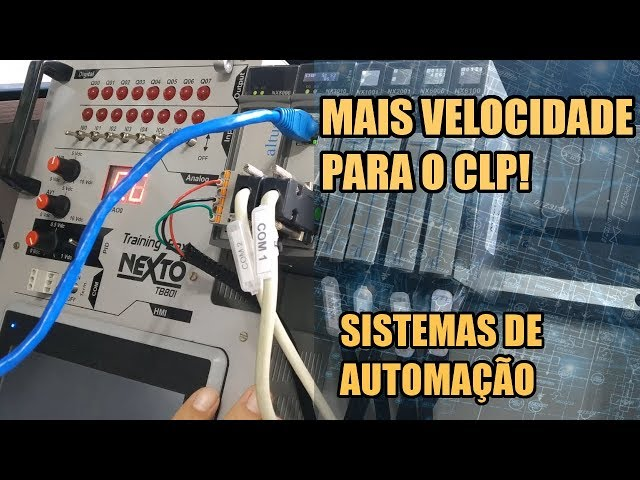MAIS VELOCIDADE NOS PROJETOS COM CLP! | Sistemas de Automação #016