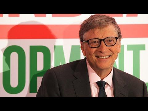 Bill Gates interview at 2017 Davos World Economic Forum