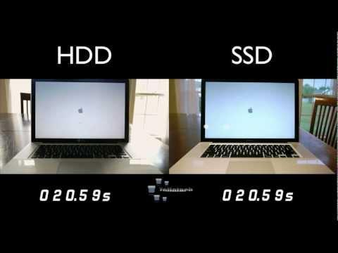 HDD vs SSD MacBook Pro Comparison