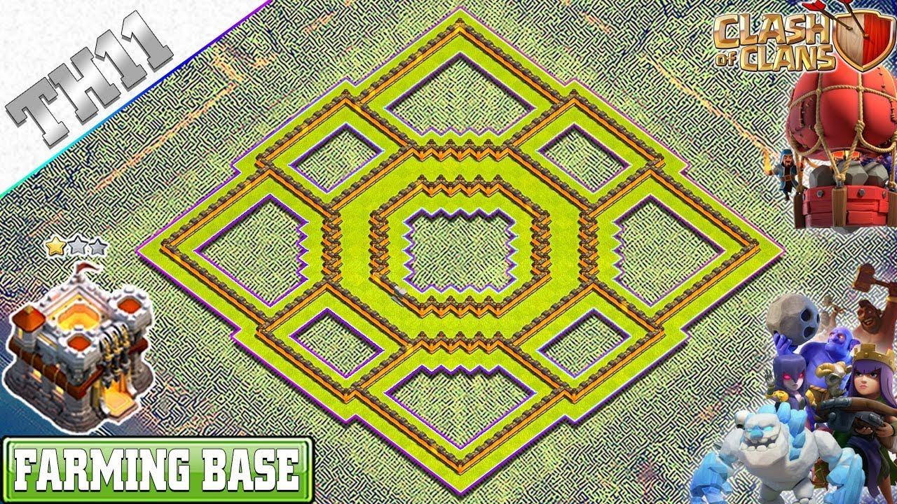 Coc Th11 Farming Base 2