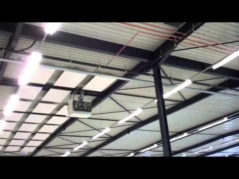 Absorptie fabriekshal (tijdens montage)