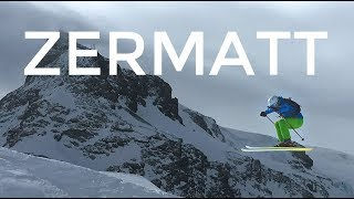 Go Pro: I'm begging you, don't make me leave Zermatt (Backcountry skiing and Park in Switzerland)