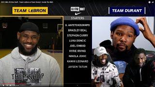 Team LeBron vs Team Durant 2021 NBA All-Star Draft! I LIKES THIS!!
