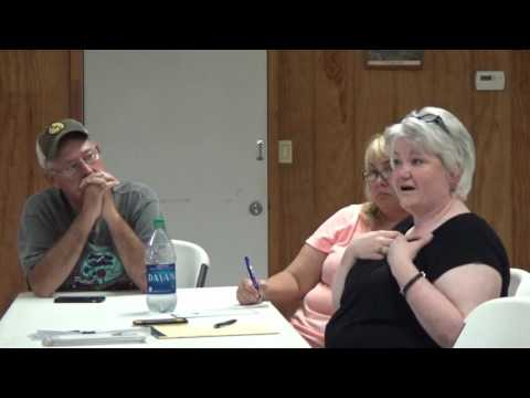 2016-08-01 Board of Supervisors Joint Meeting with Smithland