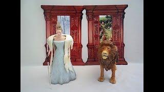 Narnia Aslan & Jadis the White Witch Action Figures