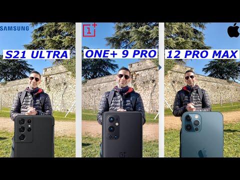 IPhone 12 Pro MAX vs SAMSUNG S21 ULTRA v …