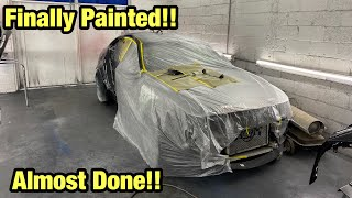 Rebuilding A Totaled Wrecked 2018 Bmw F80 M3 Almost Done And Painted