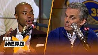 Corey Maggette talks Warriors title chances, Villanova's win over Michigan and more | THE HERD