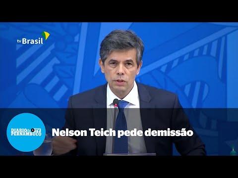 Nelson Teich pede demissão e deixa Ministério da Saúde