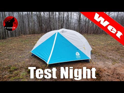 Test Night Returns! - Sierra Designs Clearwing 2 Tent