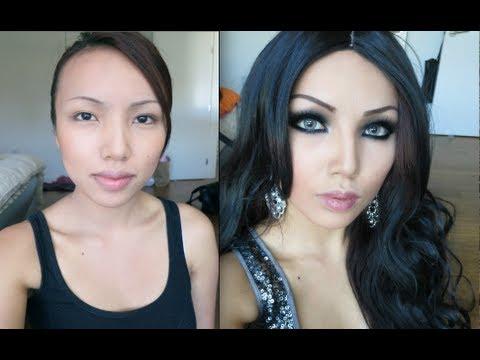 Haifa Wehbe Make-up Transformation !!! - YouTube
