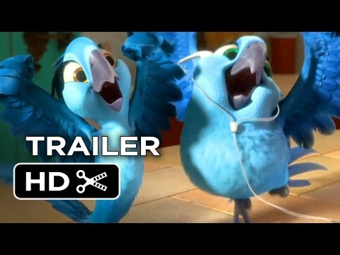 Rio 2 Official Trailer #2 (2014) - Animated Sequel HD