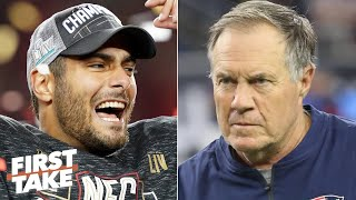 Should the Patriots regret trading Jimmy Garoppolo to the 49ers? | First Take