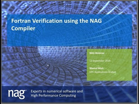 Verification and Modernisation of Fortran Codes using the NAG Fortran Compiler
