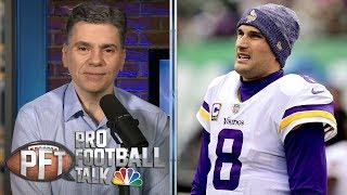 Can Kirk Cousins, Minnesota Vikings win more than nine games? | PFT Live Draft | NBC Sports